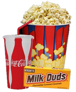 Image Gallery movie popcorn and drink